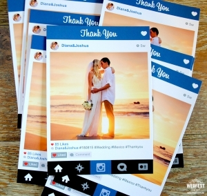 کارت عروسی اینستاگرامی
