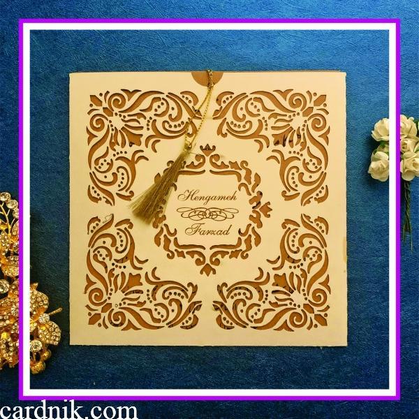 کارت عروسی کد 3777