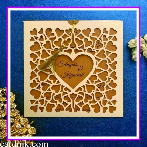 کارت عروسی کد 3779